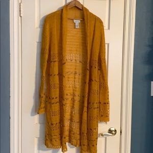 Soft surroundings long sweater